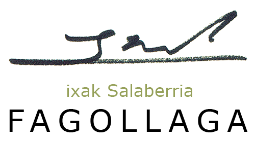 logo Restaurante Fagollaga: Ixak Salaberria
